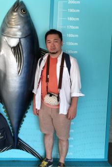葛西臨海水族館にて